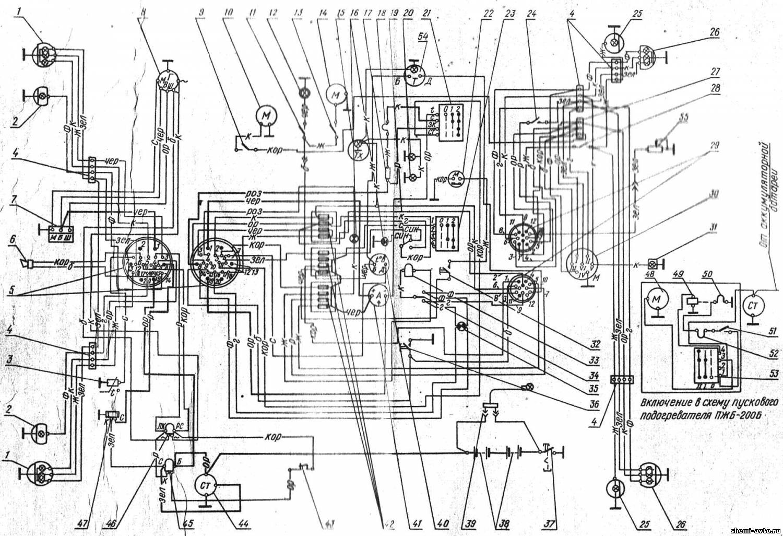 Схема п дключення генератора МТЗ